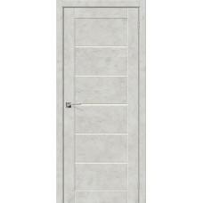 Дверь экошпон BRAVO el'PORTA Легно-22 ДО Grey Art со стеклом Magic Fog