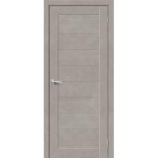 Дверь BRAVO HF Браво-21 ДГ Gris Beton