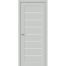 Дверь BRAVO HF Браво-22 ДО Grey Mix со стеклом Magic Fog