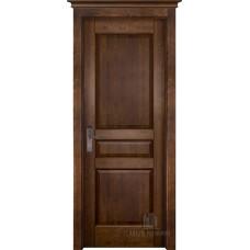 Дверь массив ольхи Двери Регионов Ока Гармония ДГ Античный орех