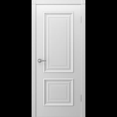 Дверь BP-DOORS Акцент ДГ Эмаль белая