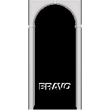 Арка ПВХ BRAVO П-23 Белый