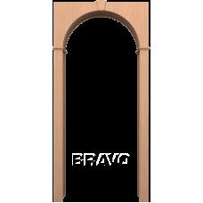 Арка шпонированная BRAVO Ф-01 Дуб