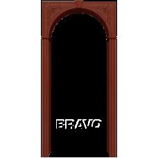 Арка шпонированная BRAVO Муза Ф-15 Макоре