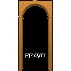 Арка шпонированная BRAVO Т-03 Дуб Натуральный