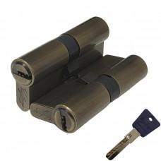 Механизм цилиндровый с перфо ключом Vantage P60 AB бронза