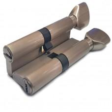 Механизм цилиндровый с перфо ключом Vantage PC 60 SN матовый никель