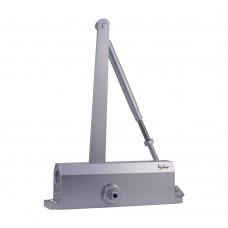 Дверной доводчик DD-140 S серебро