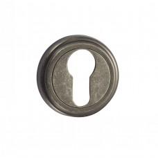 Накладка под цилиндр Vantage ET 03 AS состаренное серебро