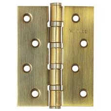 Петля универсальная врезная Vantage B4 AB 100*75*3 бронза