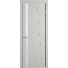 Дверь эмаль Юркас К5 ДО эмаль светло-серая