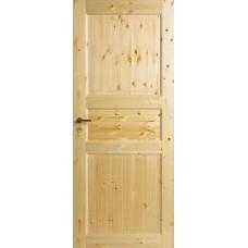 Дверь финская сосновая филенчатая Jeld Wen Tradition 51 прозрачный лак