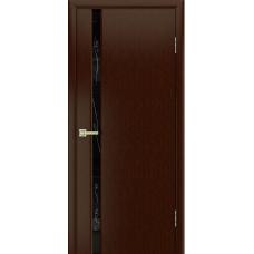 Дверь шпонированная LIGA МОДЕРН 1 Бриллиант ДО Венге
