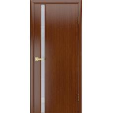 Дверь шпонированная LIGA МОДЕРН 1 ДО Орех тёмный