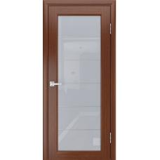 Дверь шпонированная LIGA МОДЕРН 3 ДО Орех тёмный