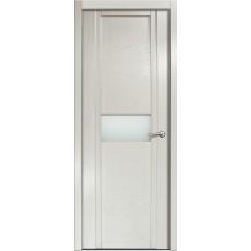 Дверь Milyana Qdo H ясень жемчуг ст белое