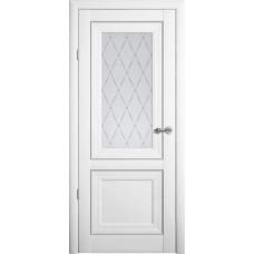 Дверь Verda ALBERO Прадо ДО Белый со стеклом Мателюкс Гранд