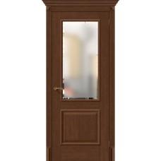 Дверь BRAVO El'Porta Классико-13 Brown Oak СТ-Magic Fog