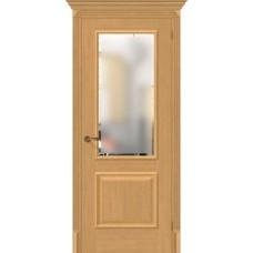 Дверь BRAVO El'Porta Классико-13 Real Oak СТ-Magic Fog