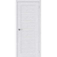 Дверь BRAVO el'PORTA Легно-22 ДО Milk Oak со стеклом Magic Fog