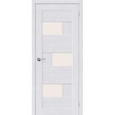 Дверь BRAVO el'PORTA Легно-39 ДО Milk Oak со стеклом Magic Fog