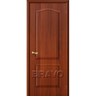 Дверь ламинированная BRAVO Палитра ДГ Л-11 Итальянский орех