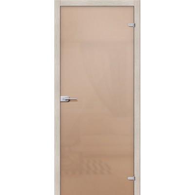 Дверь стеклянная BRAVO Лайт Сатинато бронза