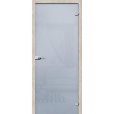 Дверь стеклянная BRAVO Лайт Сатинато белое