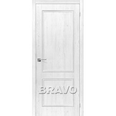 Дверь BRAVO Симпл-12 ДГ 3D Shabby Chic
