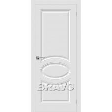 Дверь BRAVO Скинни-20 ДГ П-23 Белый