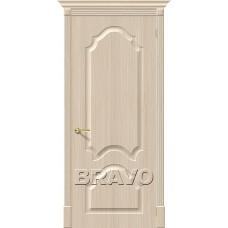 Дверь BRAVO Скинни-32 ДГ П-30 Беленый дуб
