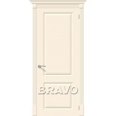 Дверь эмаль BRAVO Скинни-12 ДГ Cream