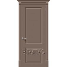 Дверь эмаль BRAVO Скинни-12 ДГ Mocca