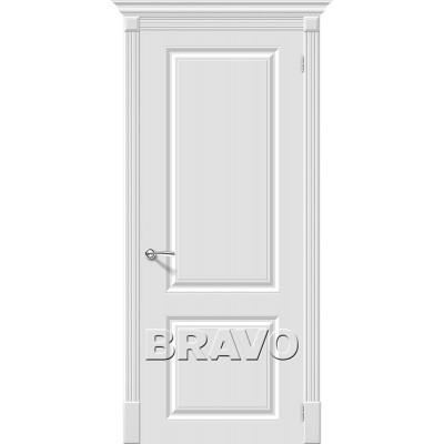Дверь эмаль BRAVO Скинни-12 ДГ Whitey