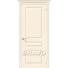 Дверь эмаль BRAVO Скинни-14 ДГ Cream