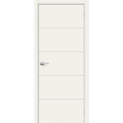 Дверь эмаль BRAVO Граффити-2 ДГ Whitey