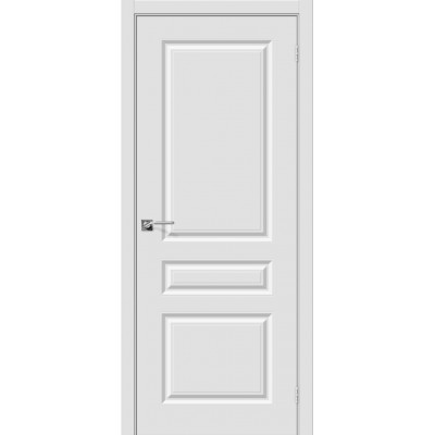 Дверь BRAVO Скинни-14 ДГ П-23 Белый