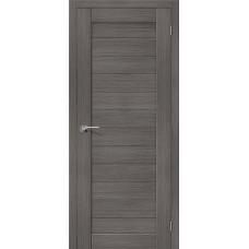 Дверь экошпон BRAVO el'PORTA Порта-21 ДГ Grey Veralinga