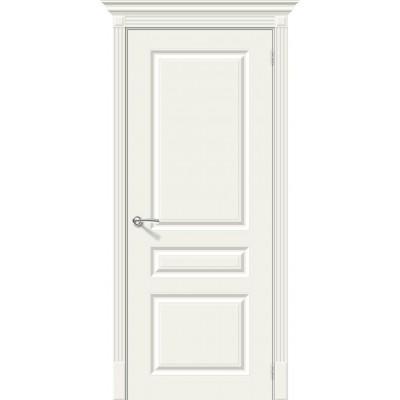 Дверь эмаль BRAVO Скинни-14 ДГ Whitey