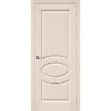 Дверь шпонированная BRAVO Статус-20 ДГ Ф-20 Беленый дуб