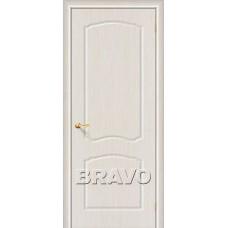Дверь BRAVO Альфа ДГ П-20 Беленый дуб