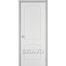 Дверь BRAVO Альфа ДГ П-23 Белый