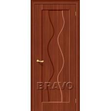 Дверь BRAVO Вираж Плюс ДГ П-17 Итальянский орех