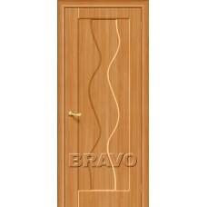 Дверь BRAVO Вираж Плюс П-18 Миланский орех