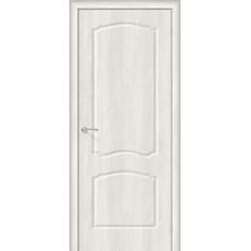 Дверь ПВХ BRAVO Альфа 1 ДГ Casablanca