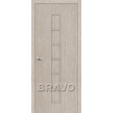 Дверь BRAVO Тренд-11 ДГ 3D Cappuccino