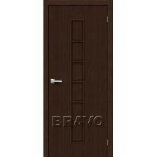 Дверь BRAVO Тренд-11 ДГ 3D Wenge
