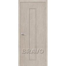 Дверь BRAVO Тренд-13 ДГ 3D Cappuccino