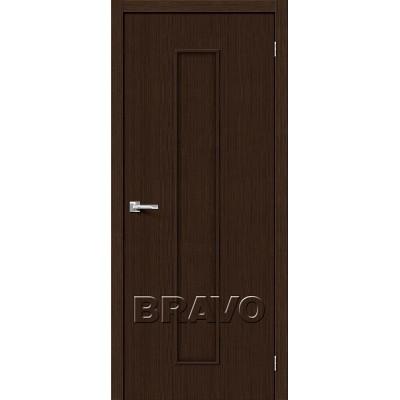Дверь BRAVO Тренд-13 ДГ 3D Wenge