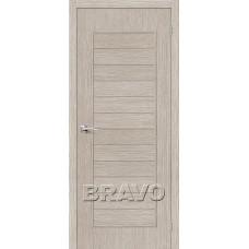 Дверь BRAVO Тренд-21 ДГ 3D Cappuccino